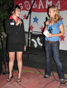 Sarah Palin (Jessica Chisum) and former Daily Show correspondant Lauren Weedman