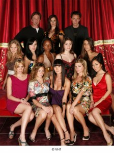 "Cast of VH-1's ""Scream Queens"" season one."