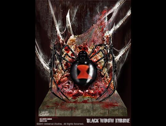 black widow throne courtesy universal studios hollywood