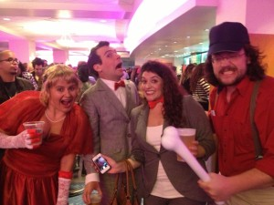 Pee-Wee and Friends. Photo credit: Eden Folwell