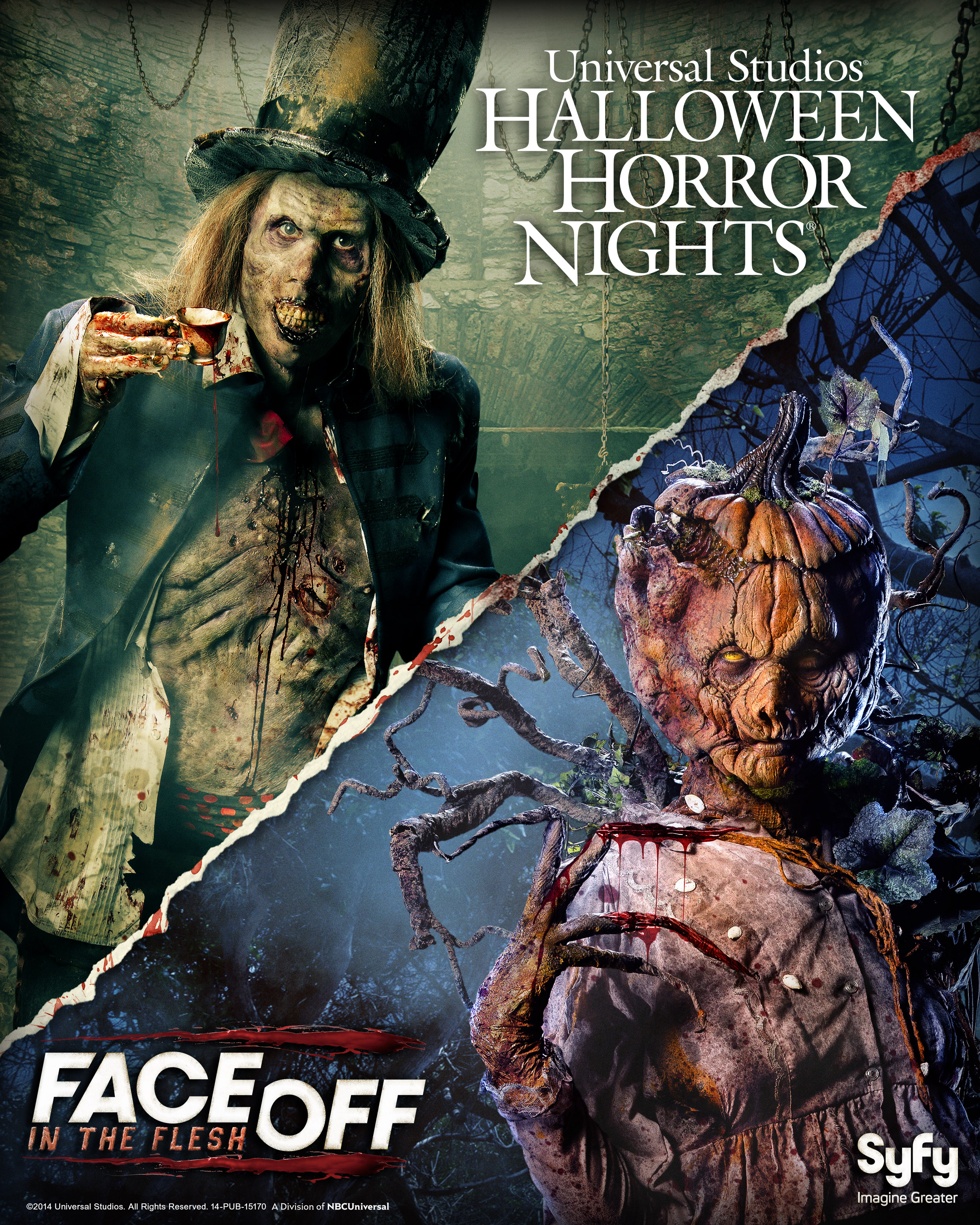 "Face Off"" Menagerie to Haunt Halloween Horror Nights – Creepy LA ..."