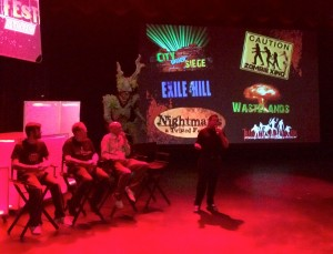 Fright Fest Panel - Photo by Eden Folwell
