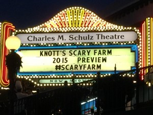 Knott's Scary Farm 2015 Preview (photo E Folwell)