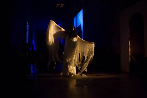 "Tanya Mironowski in ""The Fall of the House of Usher."" Photo by Daniel Kitayama."