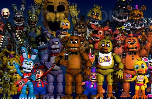 """Las Vegas' Fright Dome Brings """"Five Nights at Freddy's"""" To Life"""