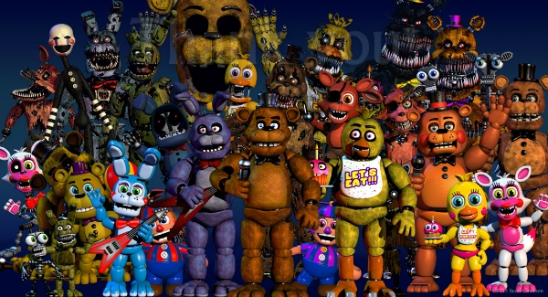 """Las Vegas' Fright Dome Brings """"Five Nights at Freddy's"""" To Life ..."""