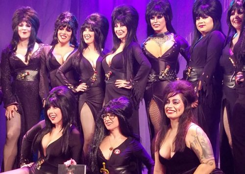 Knott's Scary Farm Hosts 'Elvira Look-A-Like Contest'