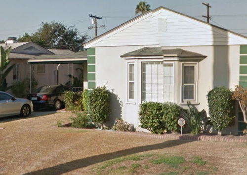 Possible Black Dahlia killer's residence – 3959 S. Norton Ave, Los Angeles