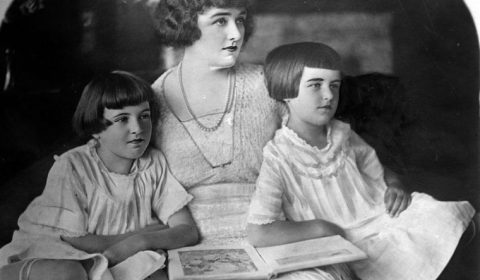 The Parker twins and mother