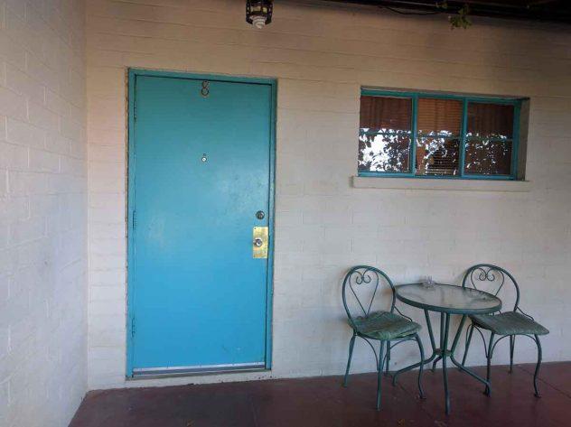 Room 8, the Gram Parsons room, at the Joshua Tree Inn