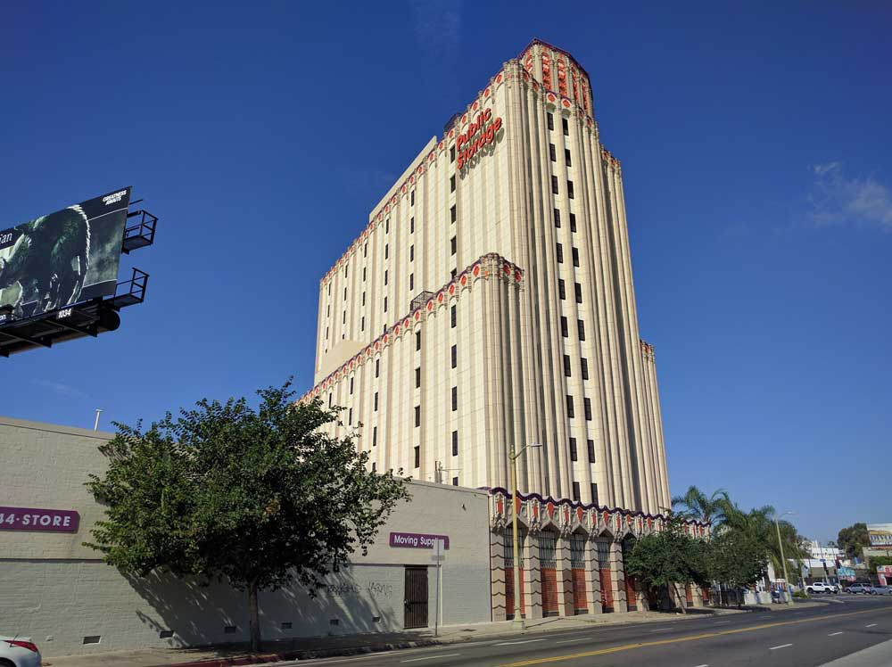 Is This East Hollywood Self Storage Building The Real Tower Of Terror