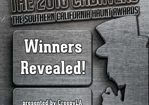 Congratulations winners of the 2016 Cadavers: the Southern California Haunt Awards!