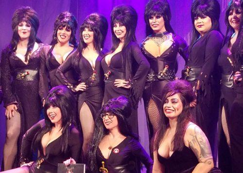 Knott's Scary Farm Hosts 'Elvira Look-A-Like Contest'
