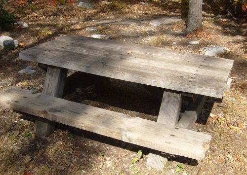 Haunted Picnic Table #29 in Griffith Park