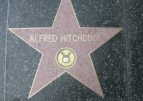 Alfred Hitchcock's Walk of Fame Stars