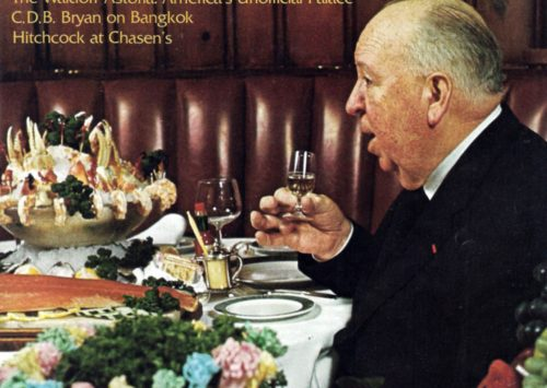 Hitchcock's favorite restaurant